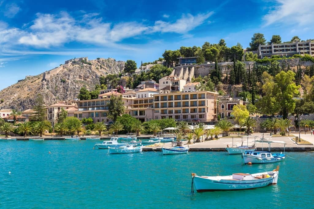 4 Days Classical Greece Tour ( Corinth Canal-Epidaurus-Nafplio-Mycenae-Olympia-Delphi-Kalambaka-Meteora Monasteries-Thermopylae )