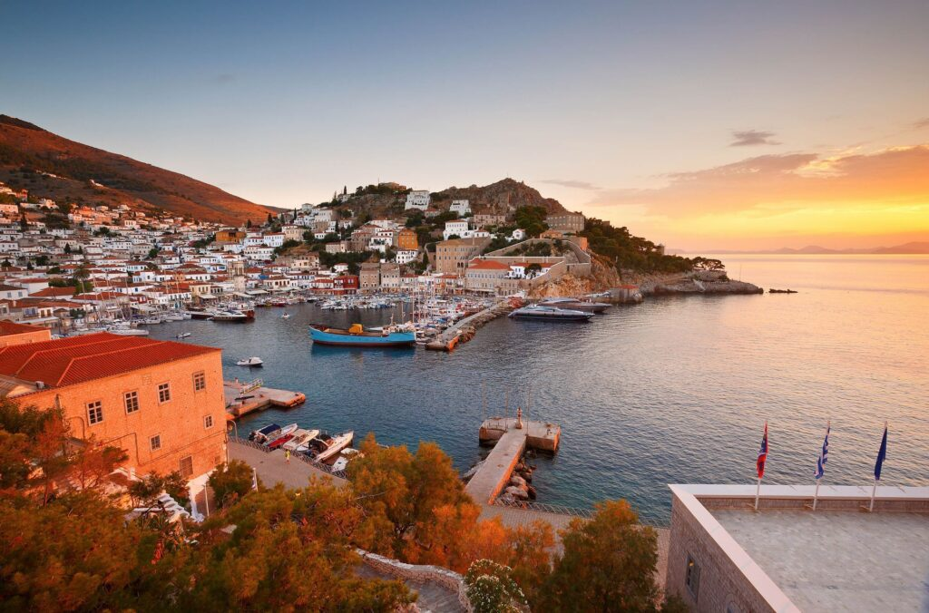 1 day cruise to 3 islands Hydra – Poros – Aegina