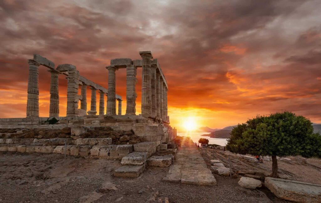 Cape Sounion tour Greece- Half day