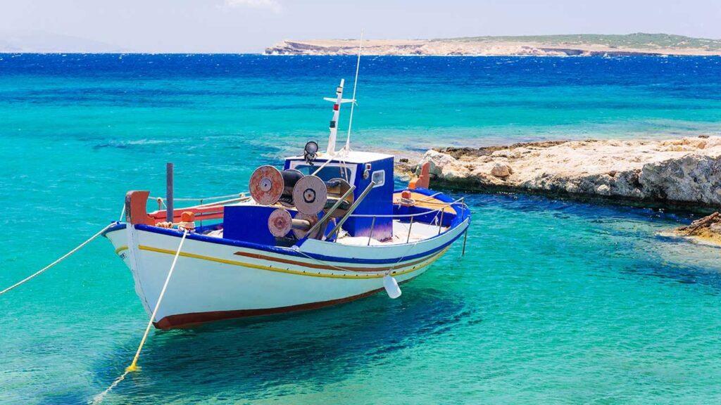 Island Hopping  Athens-Paros-Naxos