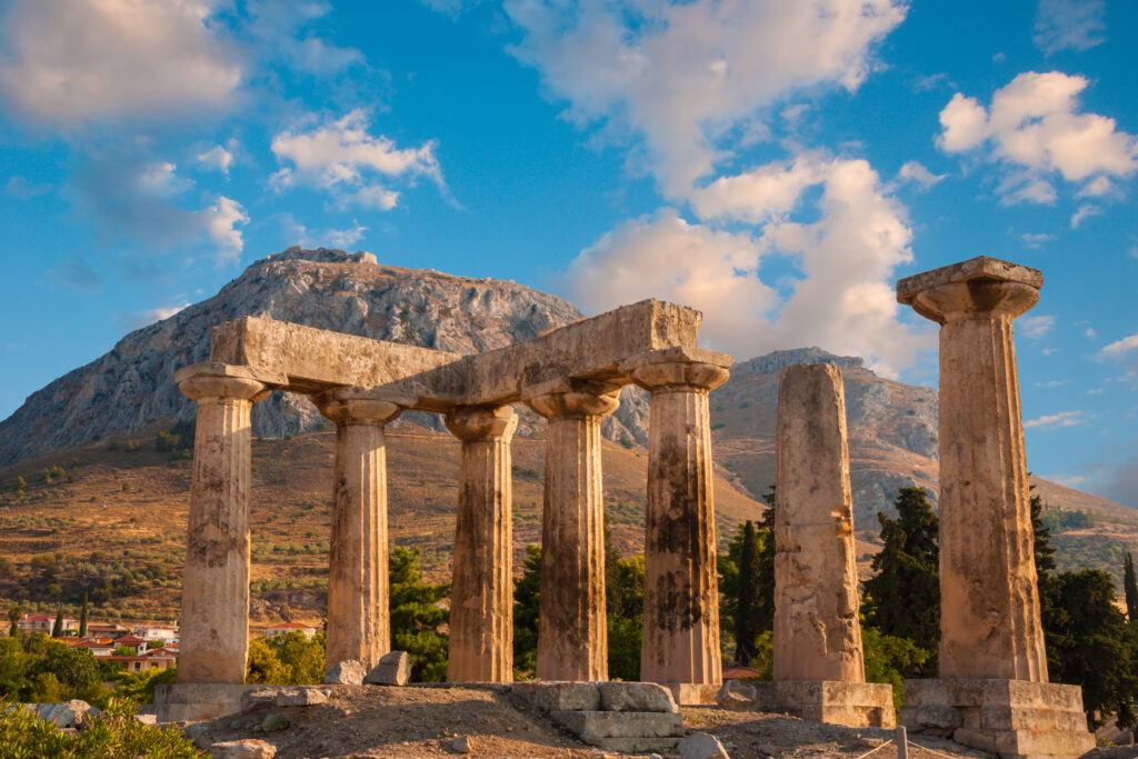 Ancient Corinth and Daphni Monastery Tour Greece
