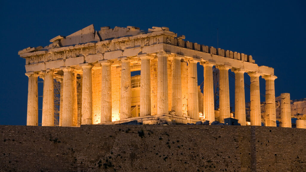 Athens by Night Tour Greece