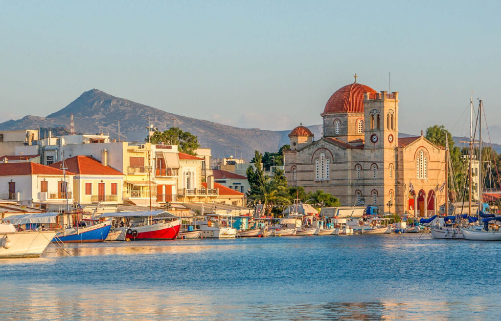 Aegina Island Greece