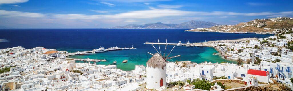 Island Hopping Athens-Santorini-Mykonos